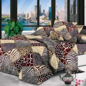 Queen Bedding African Set