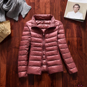 Ultra light down jacket Pink