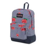 Jansport Black Label Superbreak Backpack LINEAR HIBISCUS