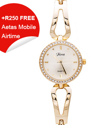 Ladies Watch Diva Collection (Gold)