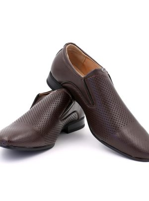 Formal Slip-on Shoe – Brown
